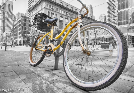 Rusty Yellow Bike