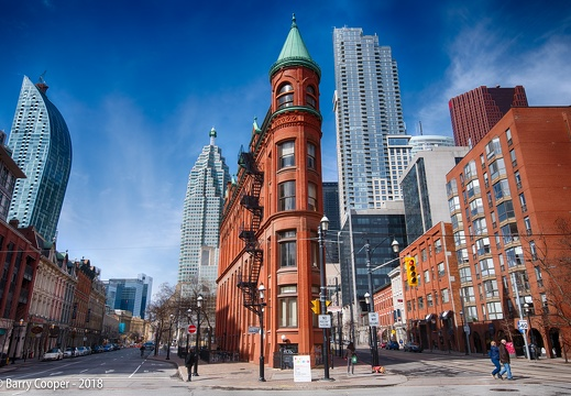 Toronto scenes 5 - The Gooderham Building (2)