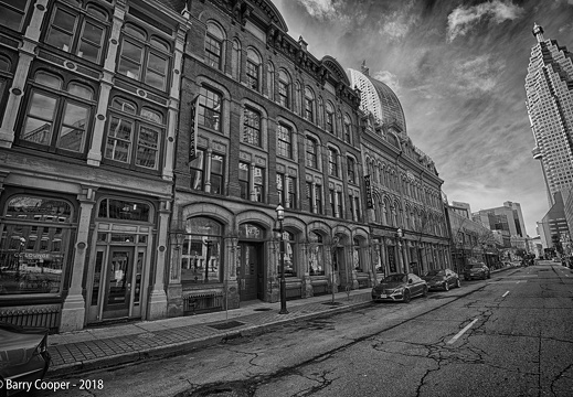 Toronto scenes 3 - Old buildings on Front Street East