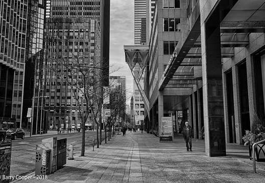 Toronto scenes 1 - Looking north up Bay Street