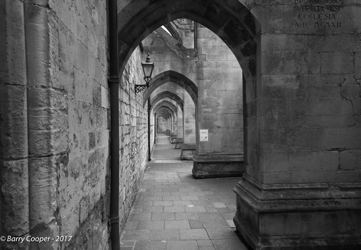 Outside Winchester Cathedral 1
